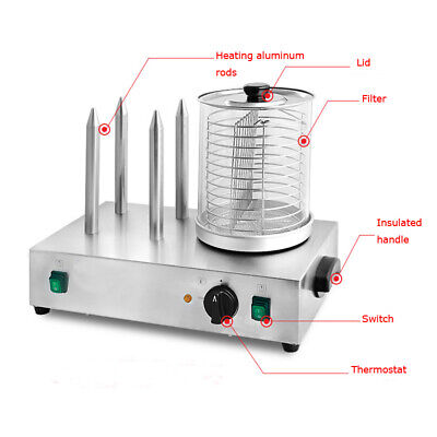 Commercial Electric Stainless Steel Steamer And Bun Warmer Heating Temperature C