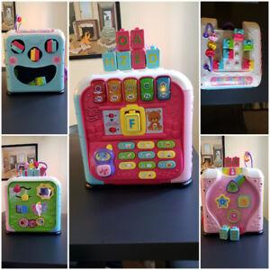 Cube à 5 côtés,  idéal pour l'apprentissage et développement