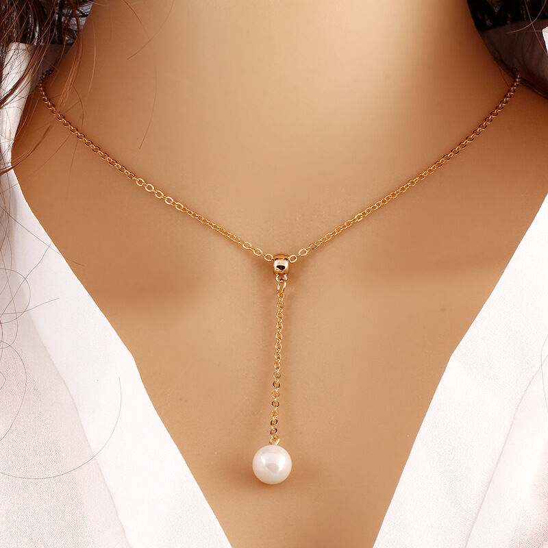 $4.50 - Fashion Women Jewelry Pendant Crystal Choker Chunky Statement Chain Bib Necklace
