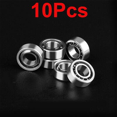 High Speed Bearing (10Pcs High Speed Bearing R188 Hybrid Inline 10 Balls For Finger Hand Spinner)