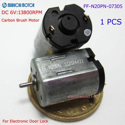Mabuchi Ff-n20pn Motor Dc 3v-9v 6v 13800rpm Micro 10mm For Electronic Door Lock