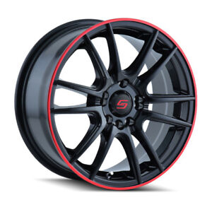 Roues / Jantes / Mags 16'' Red&Black