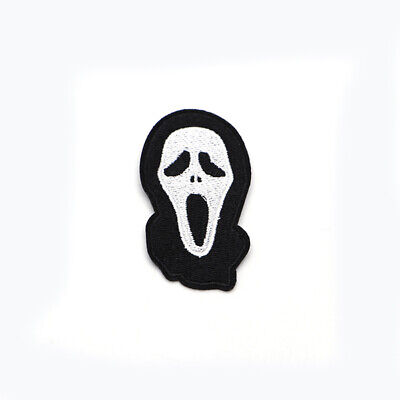 Diy For Halloween (Halloween Scream Style Embroidery Patch For Clothes Iron on Patch DIY)