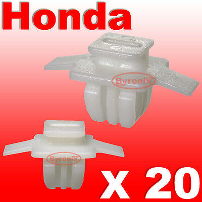HONDA CIVIC CR-V CRV FRONT WHEEL ARCH TRIM CLIPS SURROUND EXTERIOR FRONT WING 20