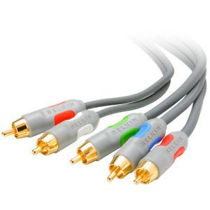 TV Component Video Cables (Y/Pb/Pr) Belkin - NEW