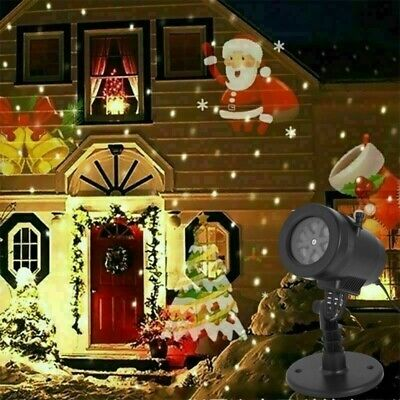 2020 Christmas Projector Light LED Laser Landscape Outdoor Xmas Lamp 16 Patterns