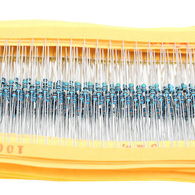2425pcs Metal Film Resistor 1 18w 0.125w Resistor Assortment Kit Assorted Kit