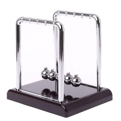 Cradle Steel Newtons Balance Ball Physics Science Pendulum Fun Desk Toys Gifts