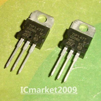 10 Pairs Tip142t Tip147t Transistor Darlington Tip142 Npn T147 Pnp 20 Pcs