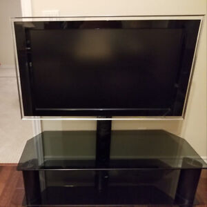 40 inch Sony LCD TV with Glass Stand