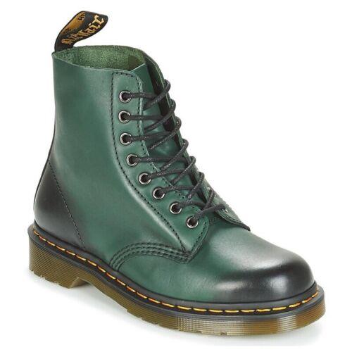 Martens Doc Stiefel Boot1460 Rockabilly Smooth Black Nieten Punk RAR  5141 Dr