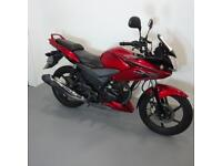 HONDA CBF125. ONLY 9885 MILES. STAFFORD MOTORCYCLES LIMITED