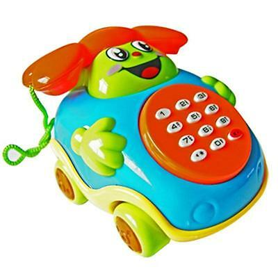 Baby toys Music Cartoon Phone Educational Developmental Kids Toy Gift CH