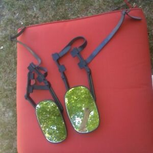 Towing mirrors with rubber straps.  $20 for the pair.