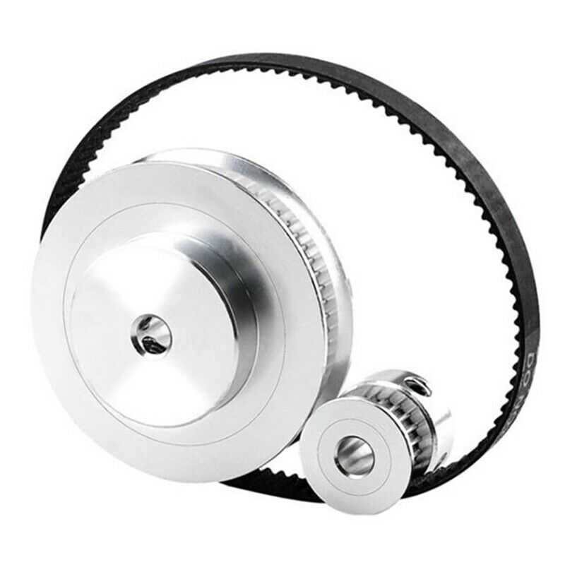 1X(GT2 Timing Belt Pulley 60Teeth 20Teeth 5mm Reduction 1:3 Belt Width 6mm