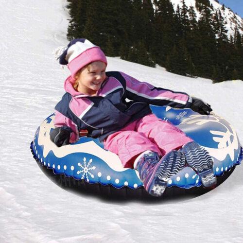 strapazierf/ähig Snow Tube 124 cm langer langer aufblasbarer Schneeschlitten mit verst/ärktem Griff 0,9 mm Cool Star Rodel-Schlauch f/ür Kinder und Erwachsene Winter-Spa/ß im Freien