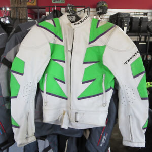 Teknic Vintage  Motorcycle Race Track Suit Jacket Pants ONLY $60