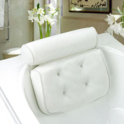 Luxury Shower Head Rest Bath Cushion Neck Back Premium Bath Spa Pillow