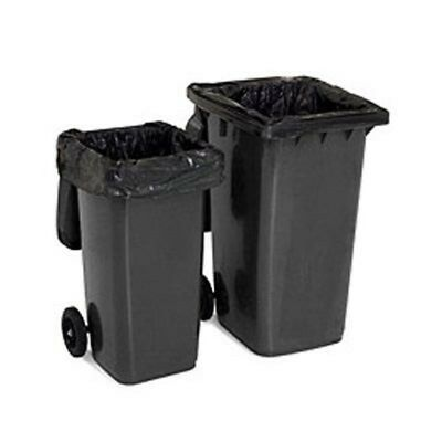 10 x NEW STRONG WHEELIE BIN LINERS REFUSE SACKS BAGS 30x46x54