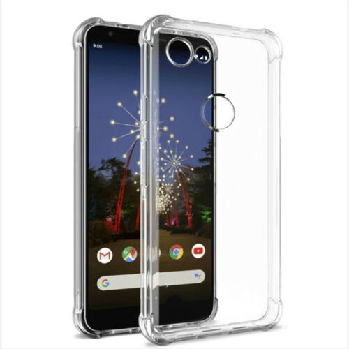 Transparent airbag protective case for Google pixel 3a XL mobile phone