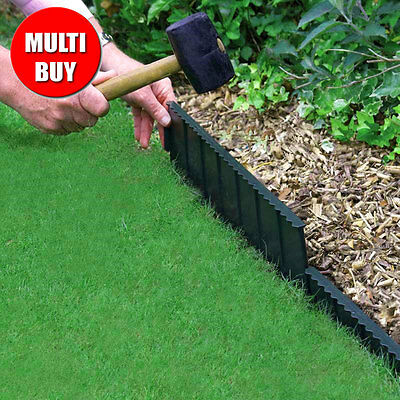 Bosmere Flexi Edge Lawn Edging 4 x 55cm Multi-Buy