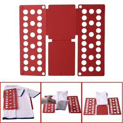 1x Clothes Folder Laundry Organizer Folding Board FOR T Shirt Fast Fold 40*16cm