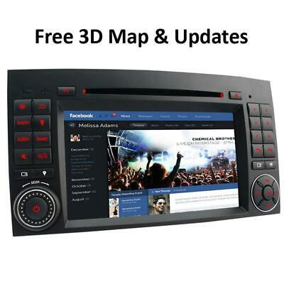 Autoradio Navi DVD GPS RDS für Mercedes Benz A/B-Klasse W245 W906 SPRINTER PB