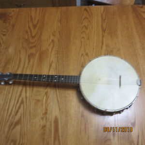 BANJOS - TWO FOUR STRING INSTRUMENTS