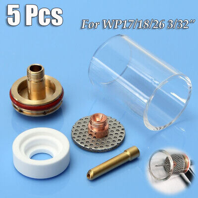 5 Tig Welding Weld Heat Cup Torches 171826 Gas Lens 332 Consumables Supply