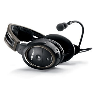 Bose A20 Aviation Headset with Bluetooth Dual Plug Cable
