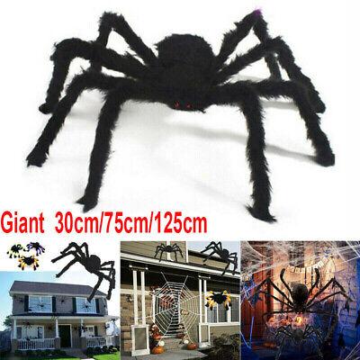 Plush Giant Spider Halloween Decoration Haunted House Props Indoor Outdoor 2019