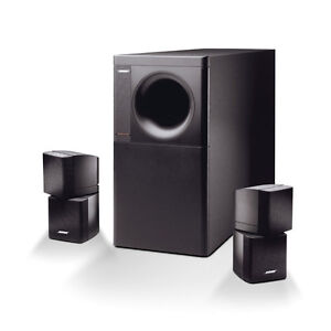 Looking for bose reflecting speakers and subwoofer