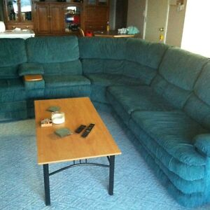 Sectional Couch with Hide-a-Bed