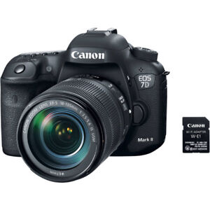 Canon 7d mark ii & 18-135mm Nano USM Lens.