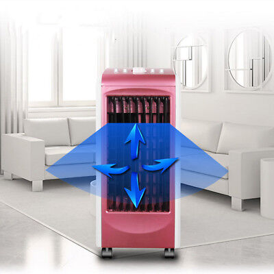 70W Portable Room Rose Air Conditioner Indoor Cooler Fan Humidifier Conditioning
