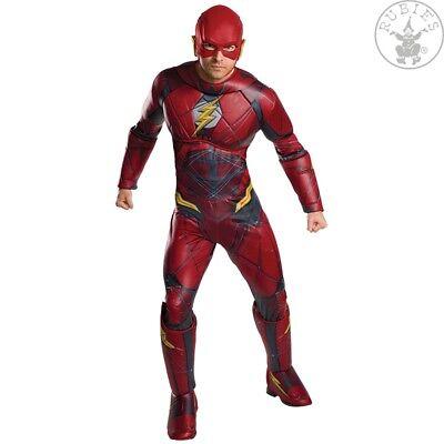 RUB 3820661 Kostüm The Flash Justice League Roter Blitz Adult Erwachsene STD - Adult Flash Kostüm