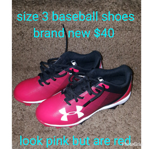 boys size 3 ball shoes New