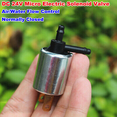 Dc24v Micro Mini Electric Solenoid Valve Air Water Control Valve Normally Closed