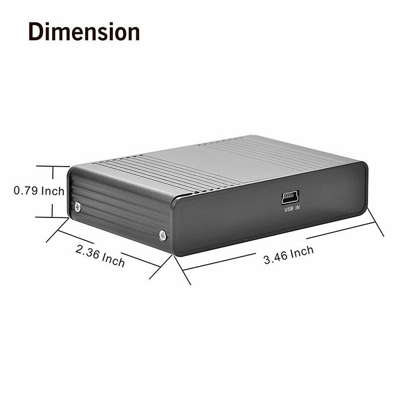 Optical External 6 Channel 5.1 Audio Output Adapter Sound Card USB SPDIF For PC - $11.99