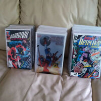 Box of comic books for sale - Total of 111 books!