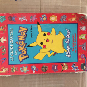 Le Guide officiel des Pokémon (FRANÇAIS) Édition 1999