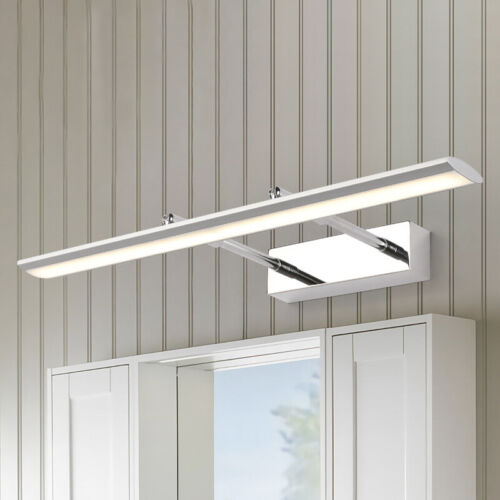Contemporary LED Bathroom Mirror Vanity Light Fixtures Acryl