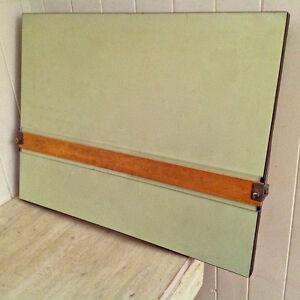 Vintage Collection Table à dessin portable avec règle parallèle