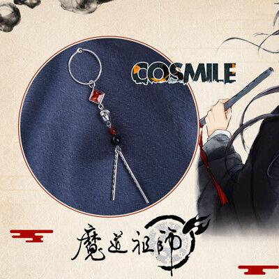 Grandmaster of Demonic Cultivation Wei Wuxian S925 Silver Flute Earrings BL Gift
