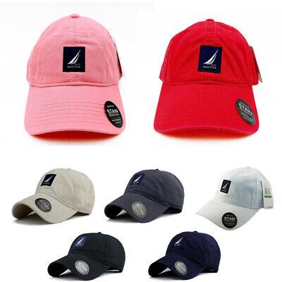 Hot Nautica Hat Men's Unisex 100% Cotton Sport Baseball Cap Casual Adjustable