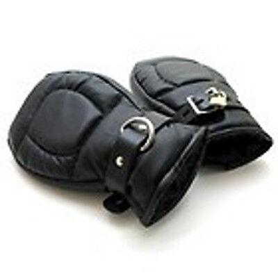 Handschuhe Fäustline Manschetten Hand Fesseln mit Schloss Fessel