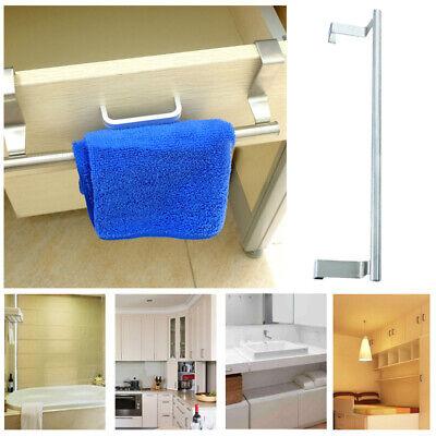 Edelstahl Küche Bad Haken Tür Handtuchhalter Kleiderbügel Hängende Bar Rack - Hängende Handtuch Bar