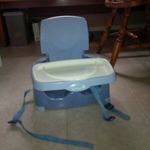 Chair mount booster seat