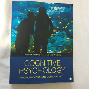 utm textbooks: Cognitive psychology- theory, process, and metho