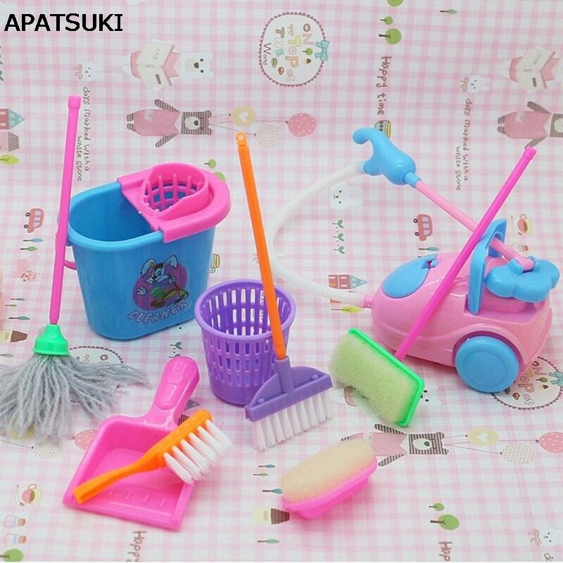 9pc set kitchen home cleaning tool floor